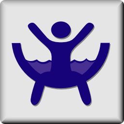 Download free water sport slide leisure icon