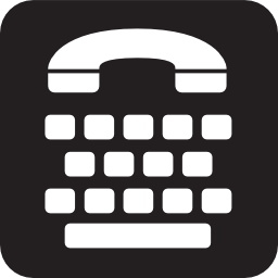 Download free phone handicapped icon