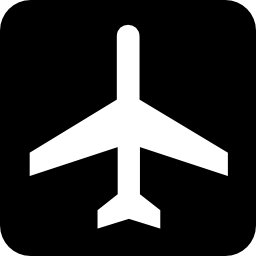 Download free plane airport icon