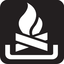 Download free fire flame wood icon