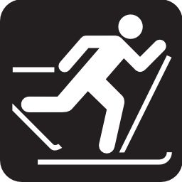 Download free sport ski cross-country icon