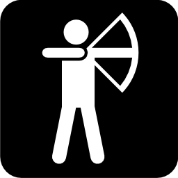 Download free sport leisure shooting archery icon