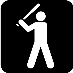 Download free sport leisure baseball bat baseball icon