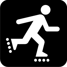 Download free sport leisure skating icon