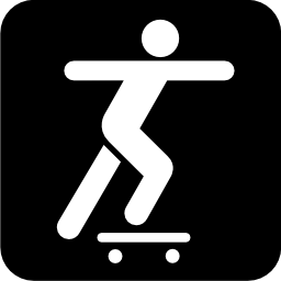 Download free leisure skate board icon