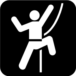 Download free sport leisure climbing icon