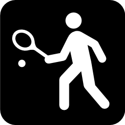 Download free sport racket ball tennis icon
