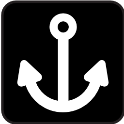 Download free anchor boat sailing icon