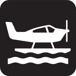 Download free water plane sea seaplane propeller icon