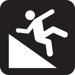 Download free fall drag icon