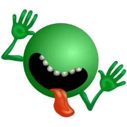 Download free green alien icon