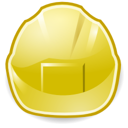 Download free helmet yellow icon