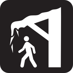 Download free fall pedestrian frozen icon