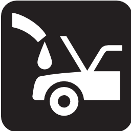 Download free vehicle engine car gasoline icon