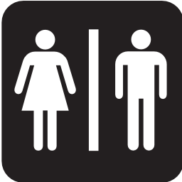 Download free human woman toilet icon