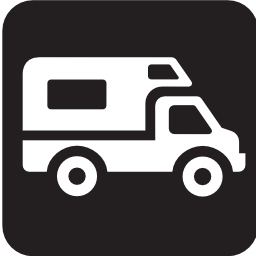 Download free vehicle caravan motorhome camping icon