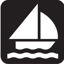 Download free water boat sea sailing lake icon