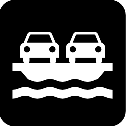 Download free vehicle transport boat ferry icon