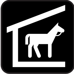 Download free horse stable icon