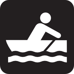 Download free water sport leisure oar rowing icon