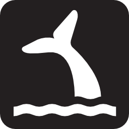 Download free animal whale observation icon