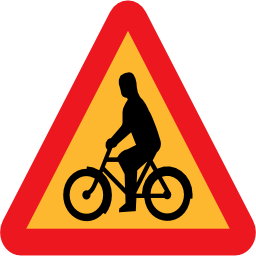 Download free triangle bike icon