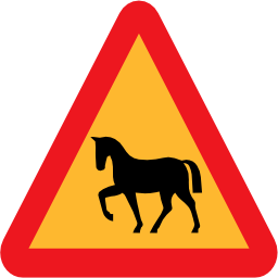 Download free animal horse triangle icon