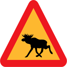 Download free animal triangle moose icon