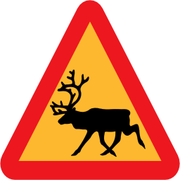 Download free animal triangle reindeer icon