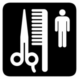 Download free scissors comb hair person icon