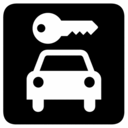 Download free key car icon