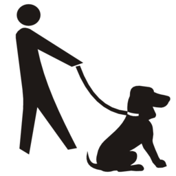 Download free dog leash icon