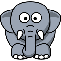 Download free grey animal elephant icon