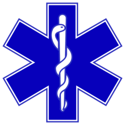 Download free blue cross health medicine drug snake doctor icon