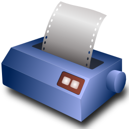 Download free sheet printer icon