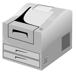 Download free printer scanner photocopier icon