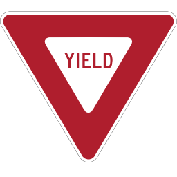 Download free passage panel yield icon