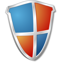 Download free blue red shield icon