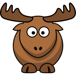 Download free animal brown elk icon