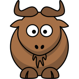 Download free animal brown gnu icon
