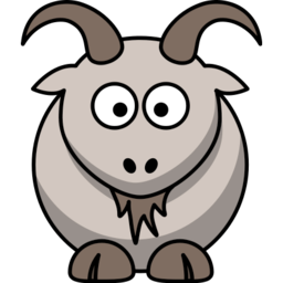 Download free grey animal goat icon
