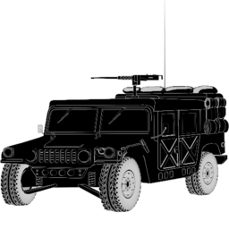 Download free car hummer military icon