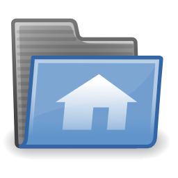 Download free folder house icon
