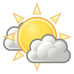 Download free sun cloud icon