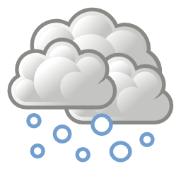 Download free weather cloud snow icon