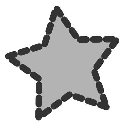 Download free grey star icon