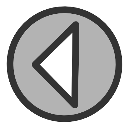 Download free grey round arrow left icon