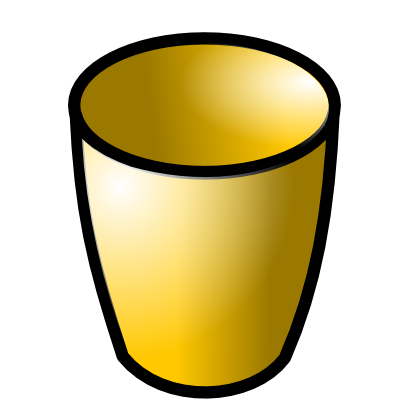 Download free yellow glass icon