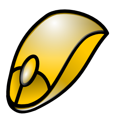 Download free yellow mouse icon