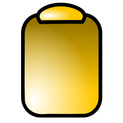 Download free yellow pad icon